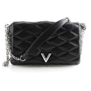 LOUIS VUITTON GO 14 Maletage MM Bag Black Quilted